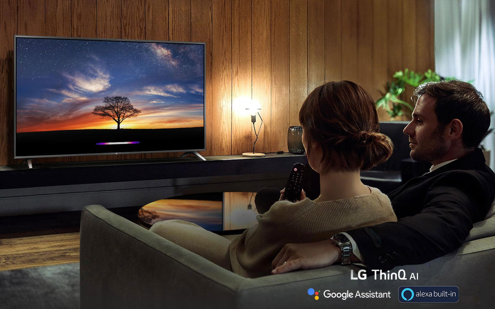 LG Ultra HD TV AI ThinQ™