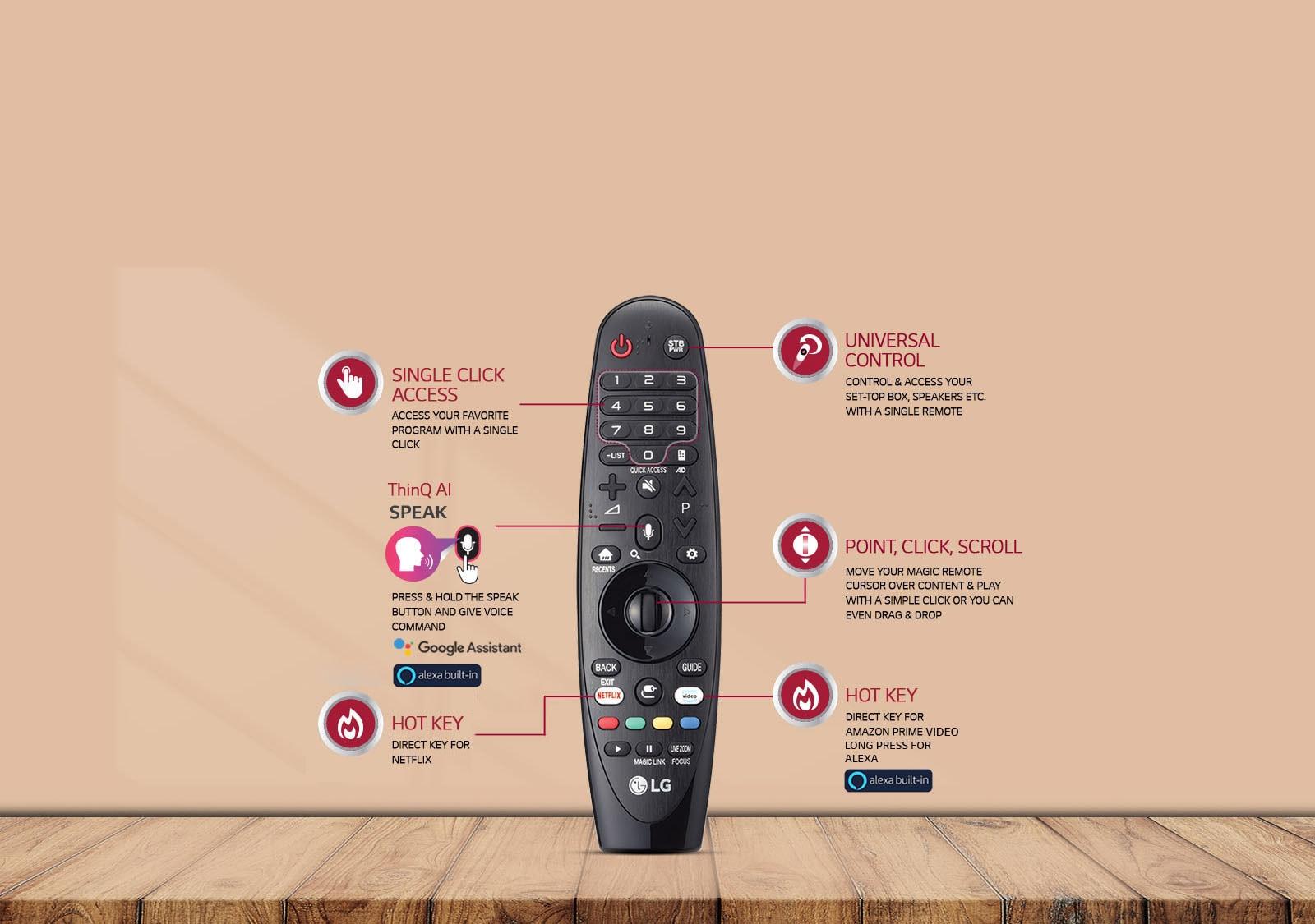 LG Ultra HD TV Magic Remote