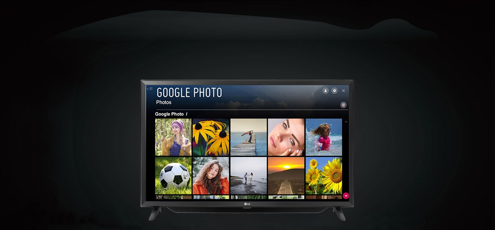 LG CLOUD PHOTO & VIDEO Smart TV