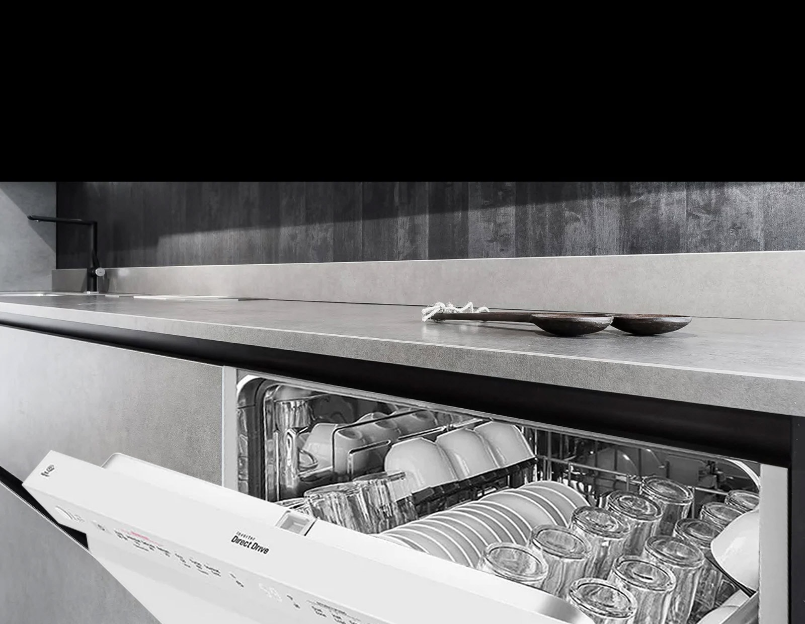LG Greater Convenience & Performance Dishwasher