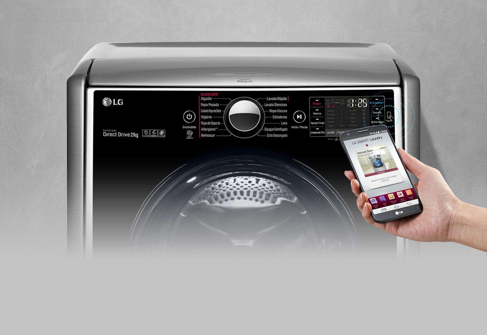 lg washing machine tap cold