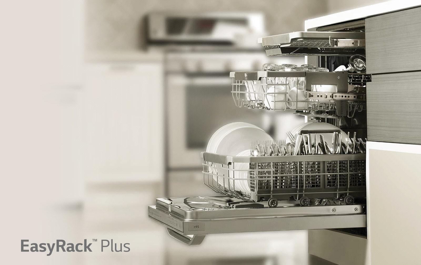 LG EasyRack Plus Dishwasher