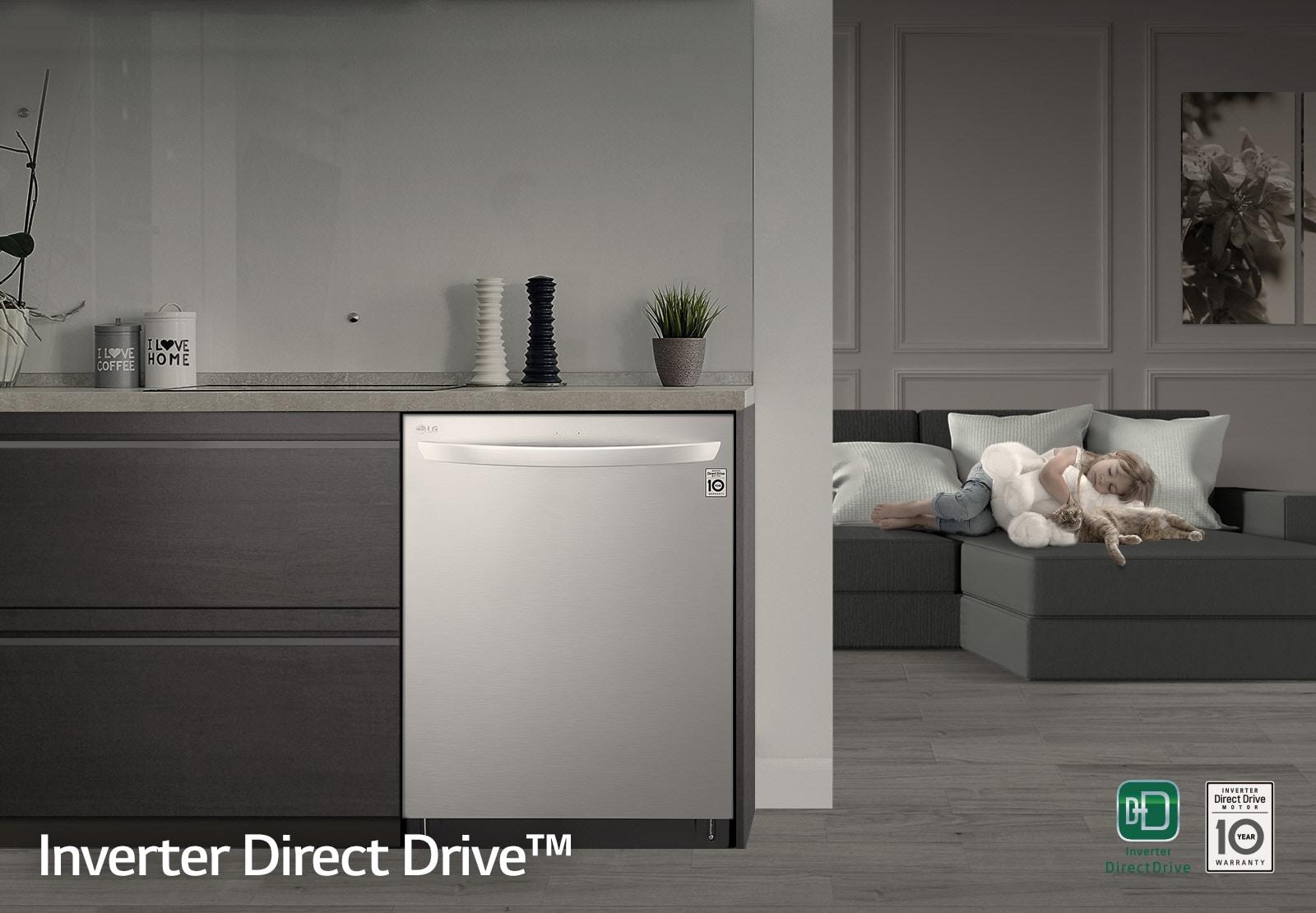 LG Inverter Drice Drive Dishwasher