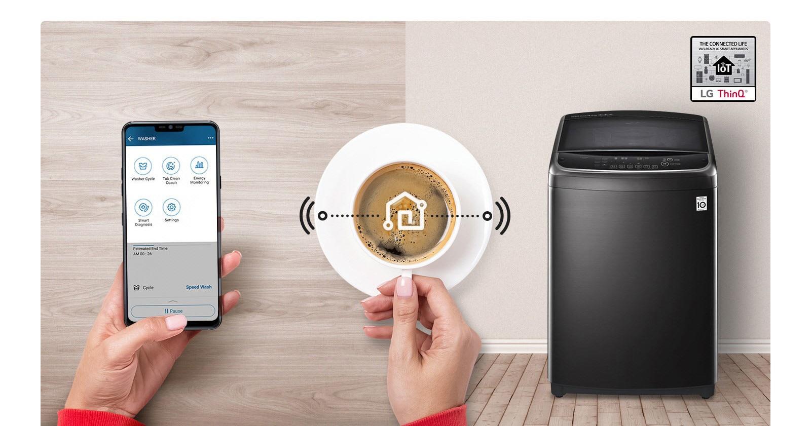 LG ThinQ Washing Machine Smart Laundry
