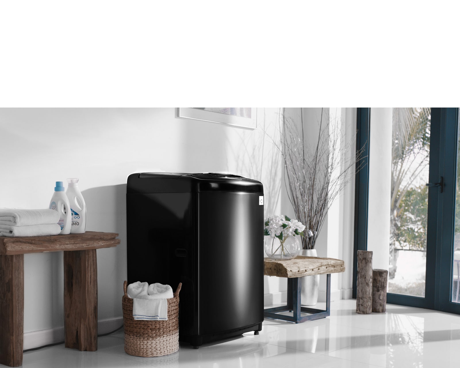 LG Premium Design Top Loading Washing Machine
