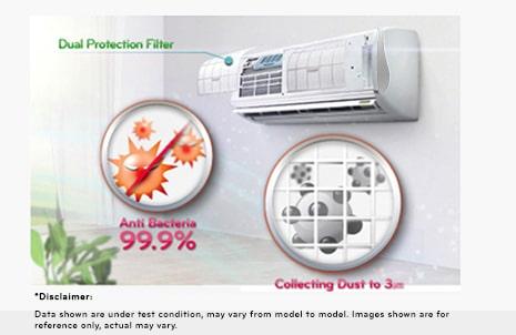 Lg Bsa18ibe Inverter V Split 1 5 Tr Air Conditioner