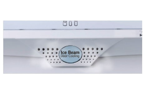 Ice Beam Door Cooling