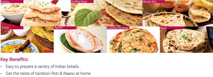 Indian Roti Basket