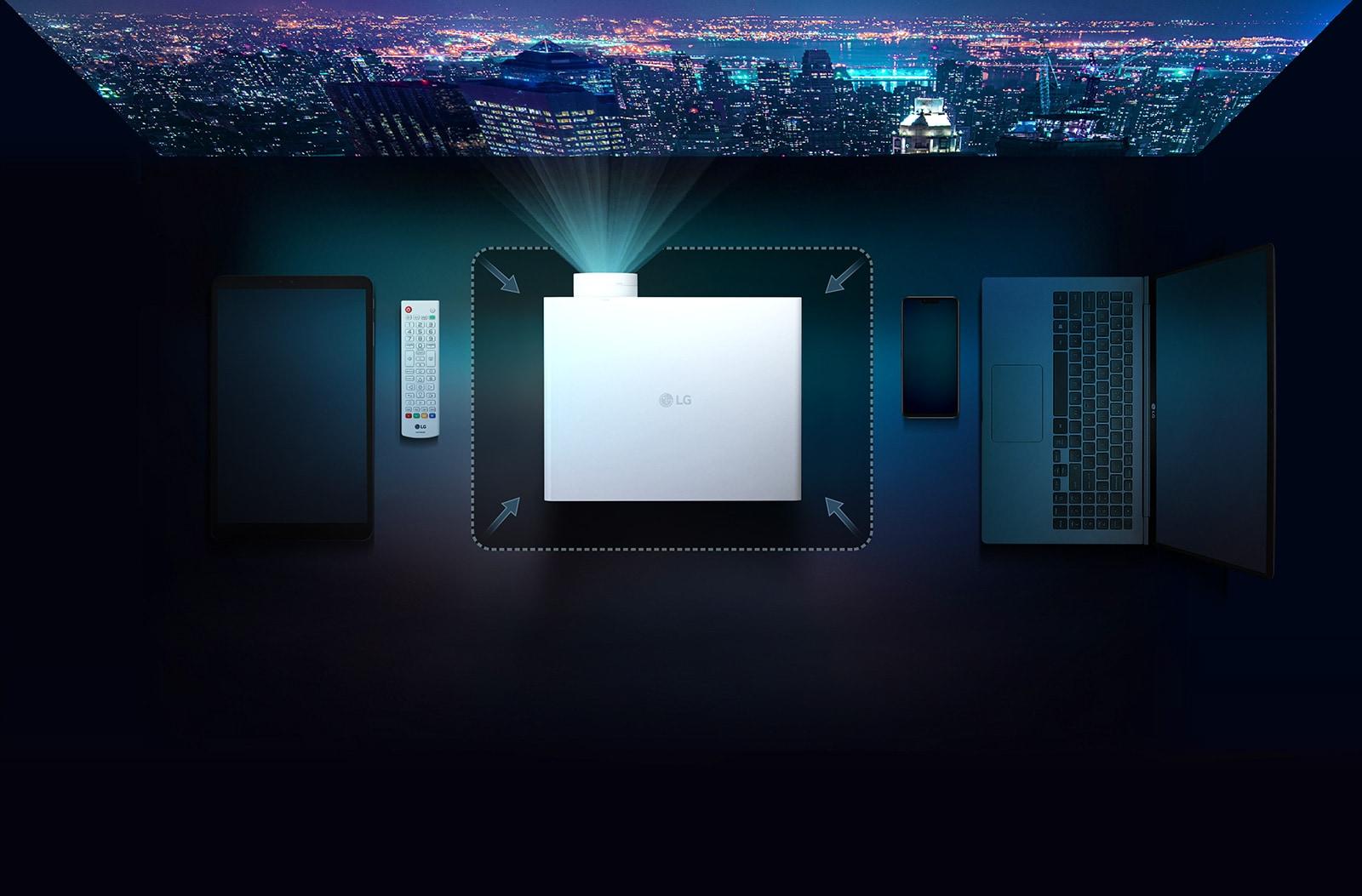 LG BU50NST Najmanjši 4K 5000 ANSI projektor
