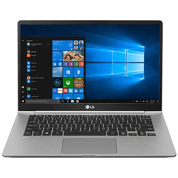LG gram 35.56cm (14) Ultra-Light Laptop with Intel® Core™ i5 processor  (8th generation)1