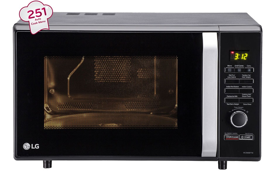 Lg Mc2886bftm Convection Microwave Oven Lg India