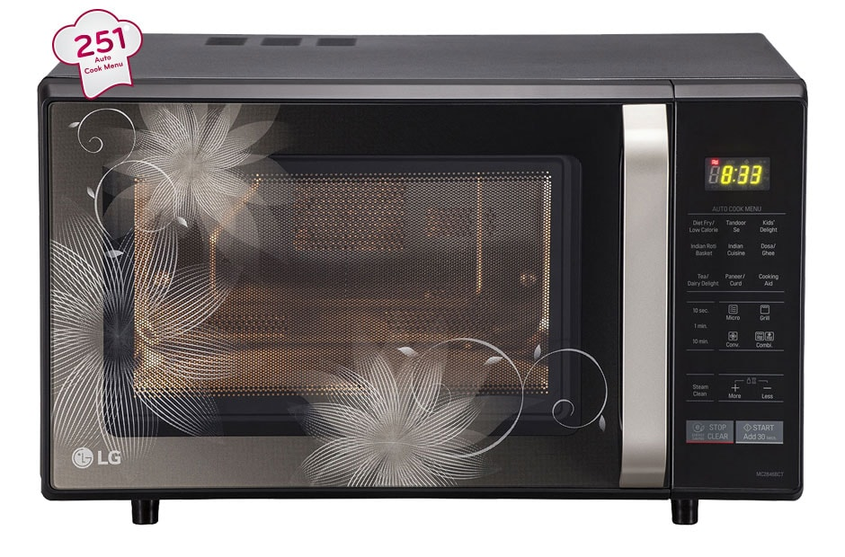 Lg Mc2846bct Convection Microwave Oven Lg India