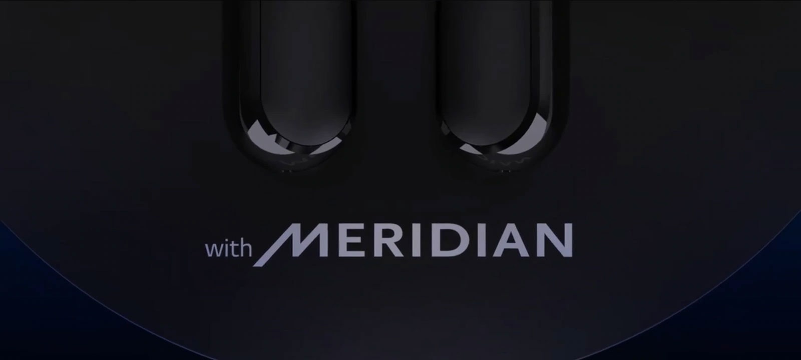 """""""with MERIDIAN"""" is carved with  blue laser."""