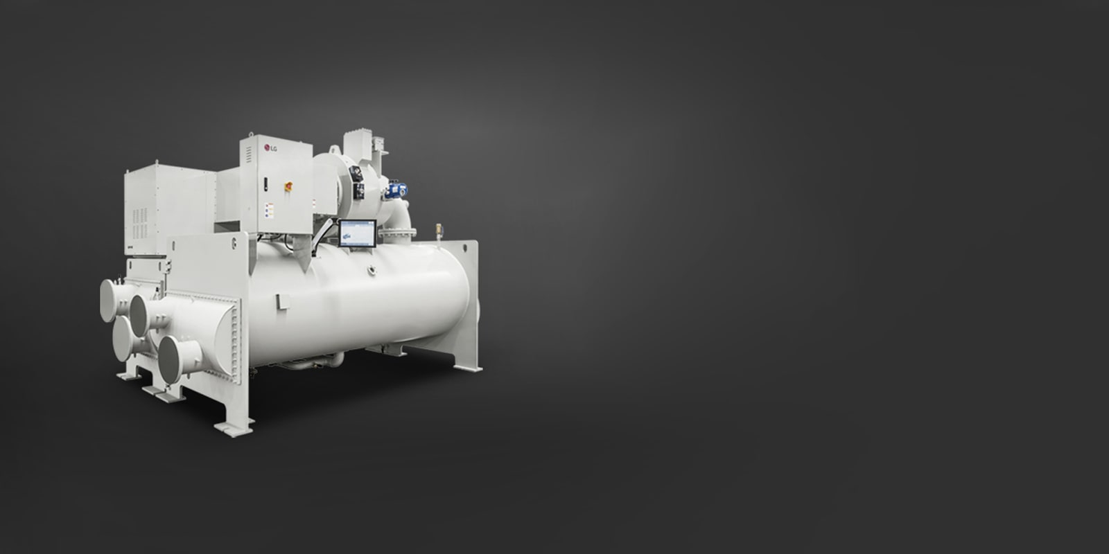 LG Oil Free Air Bearing Centrifugal Chiller Air Solution