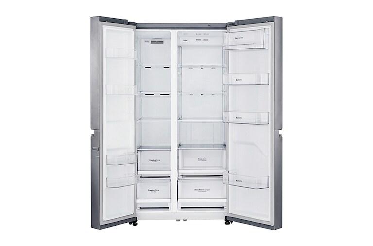 lg gc b247sluv 687 ltr side by side refrigerator lg india. Black Bedroom Furniture Sets. Home Design Ideas