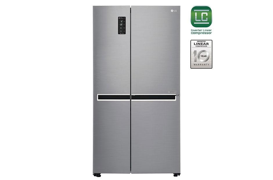 LG GC-B247SLUV 687 Ltr Side By Side Refrigerator | LG India