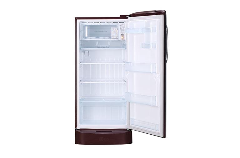 lg gl d221aspy 215 l single door refrigerator with 5 star rating
