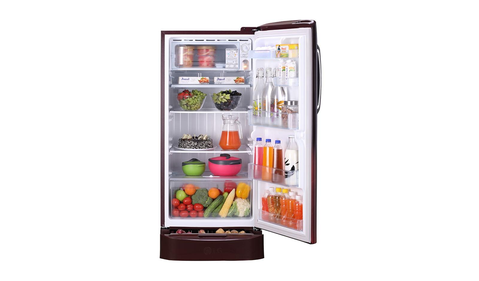 522fcf08248 LG GL-D221ASPY 215 L Single Door Refrigerator With 5 Star Rating ...