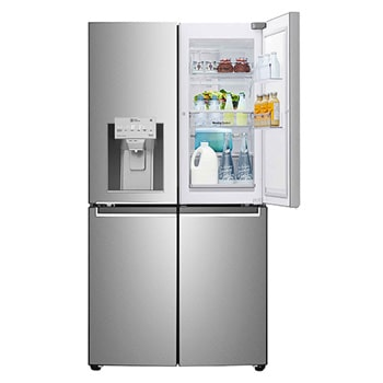 Side By Side Refrigerators Multi Door Fridges With Smart Thinq Lg In