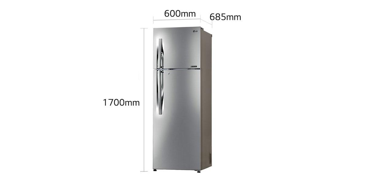 Lg Gl C372rpzu 335 Ltr Frost Free Refrigerator With