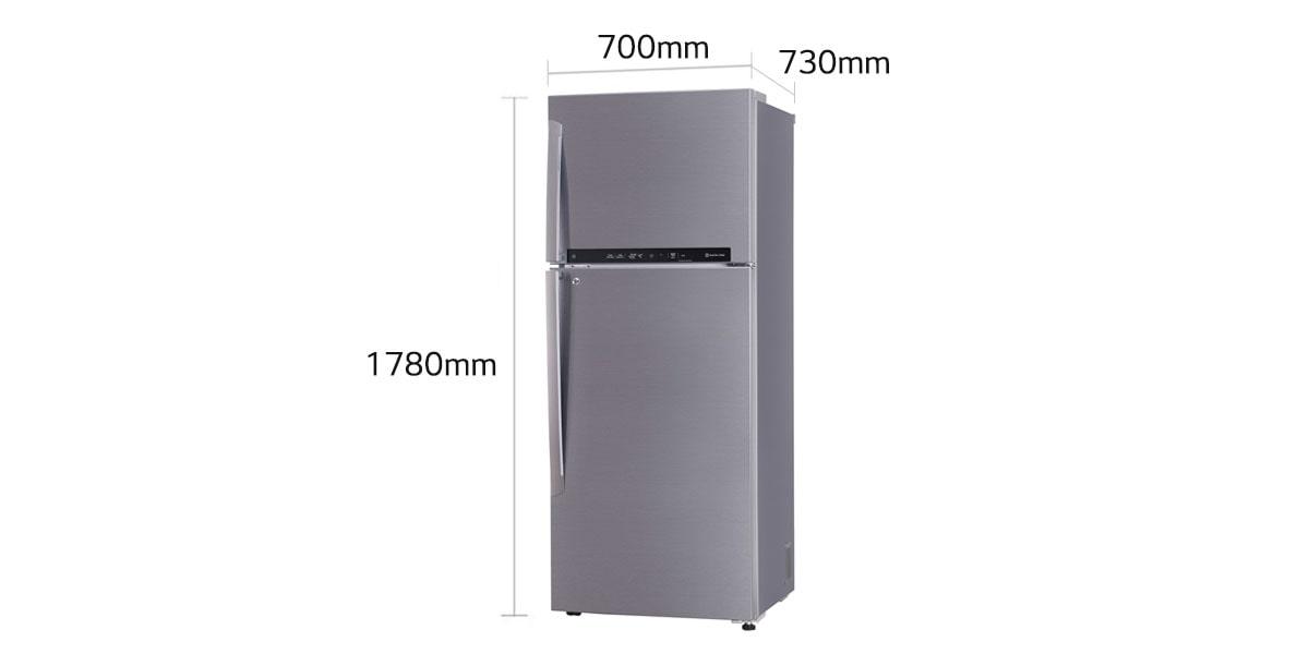 Lg Gl T502fpzu 471l Double Door Frost Free Refrigerator