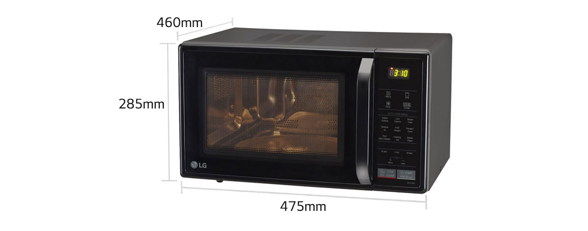 Lg Mc2146bl Convection Microwave Oven India