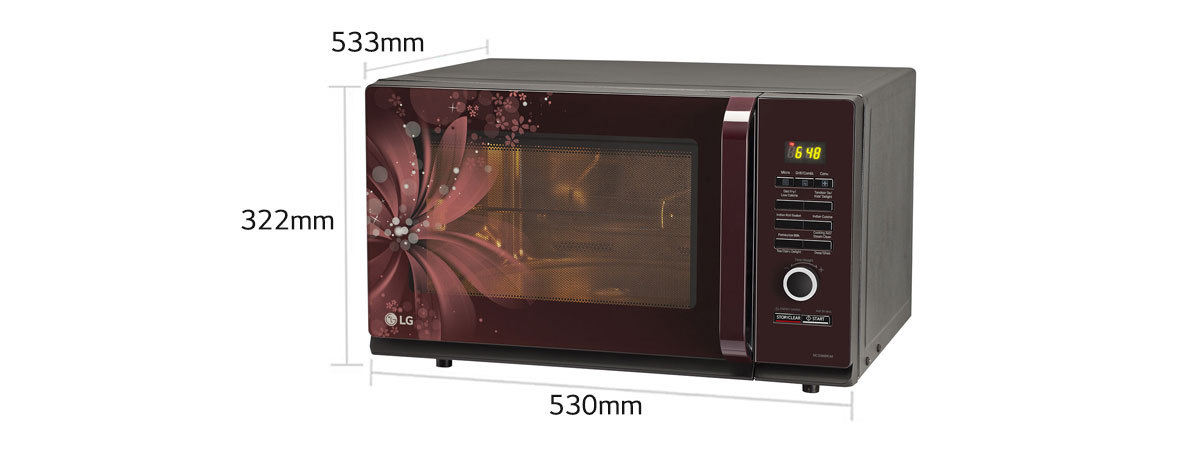 Lg Mc3286brum Convection Microwave Oven Lg India