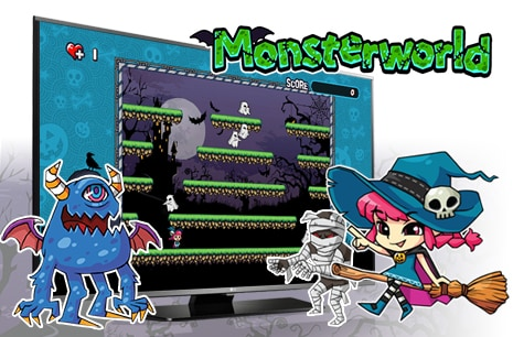 Built-in Games: Monster World