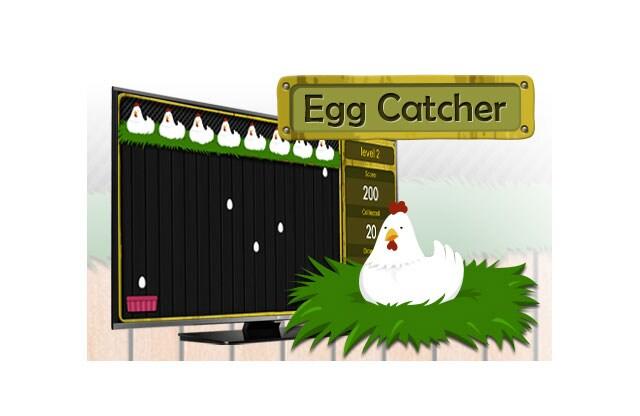 LG Built in Games: Egg Catcher LED TV