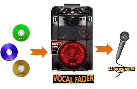 Vocal Fader