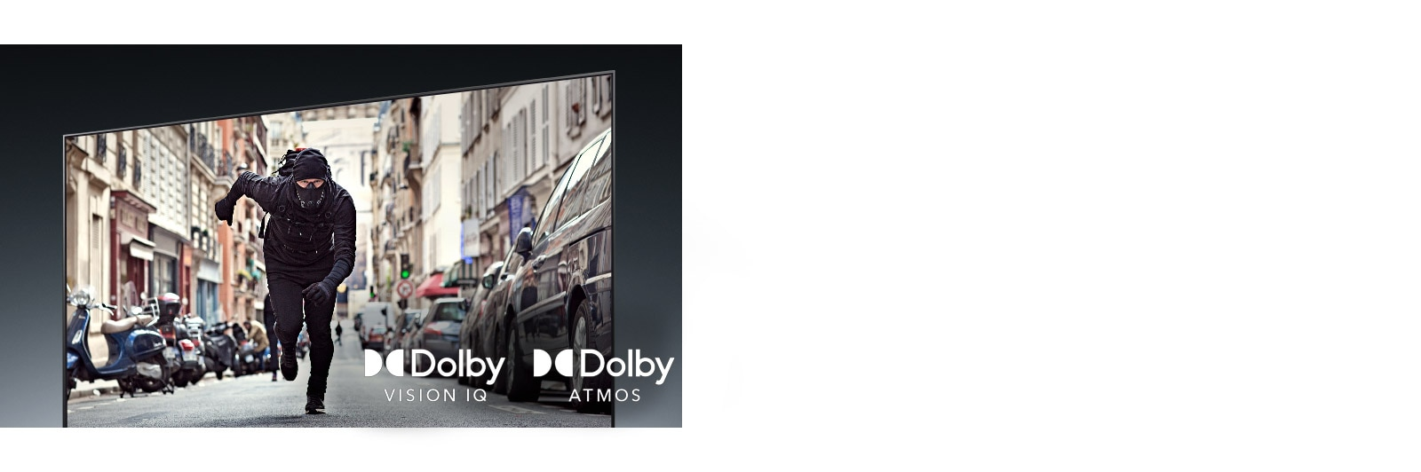 LG OLED65GXPTA Dolby Vision IQ and Atmos