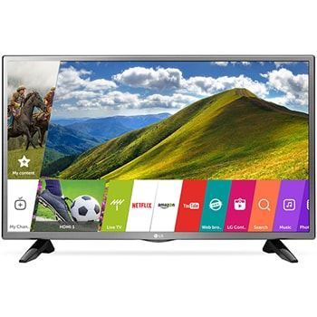LG 32LJ573D LED TV With Telly Bean & Single Click Access | LG IN
