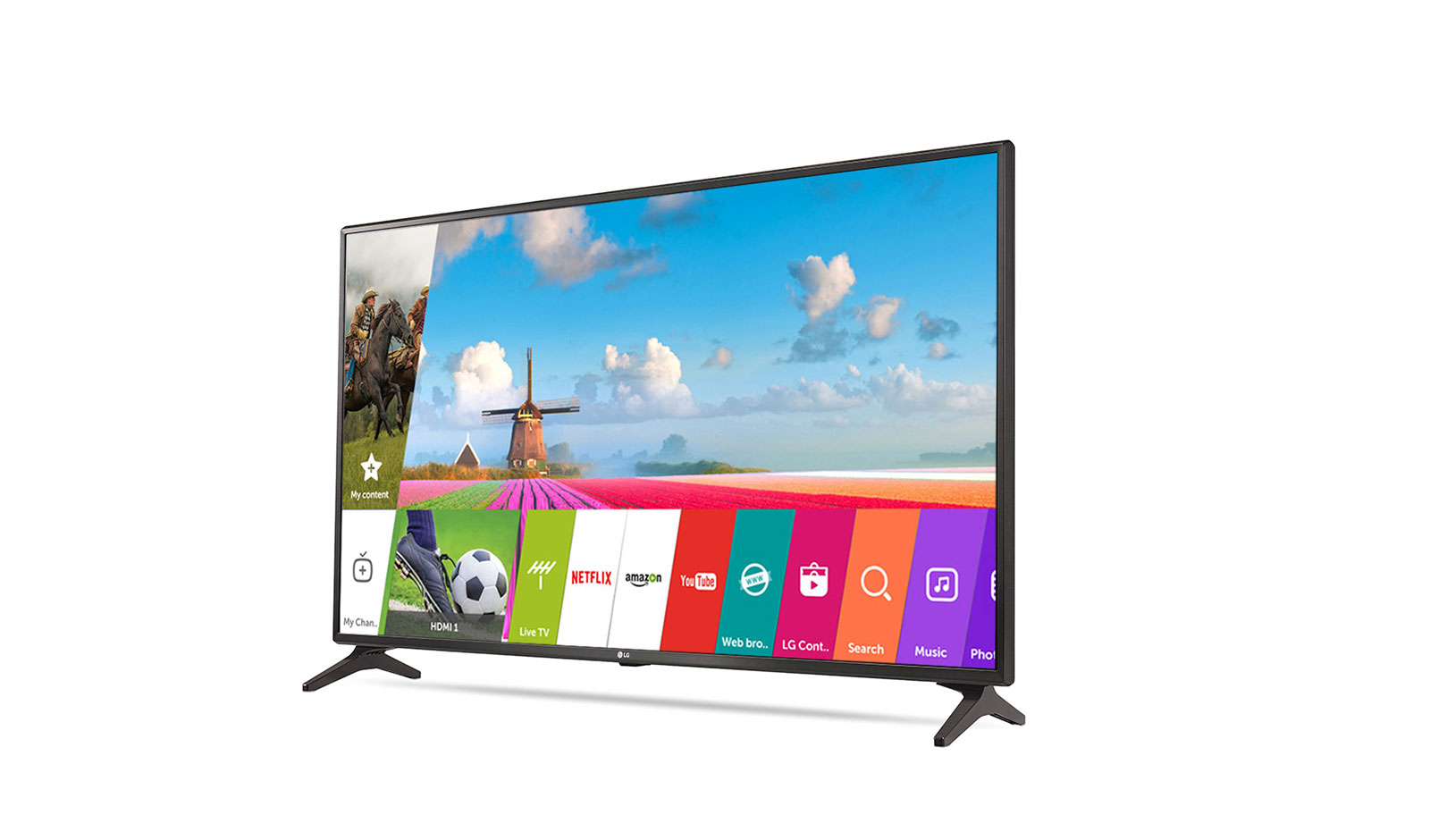 Buy LG 43LJ554T - India's Only Smart LED TV with webOS | LG