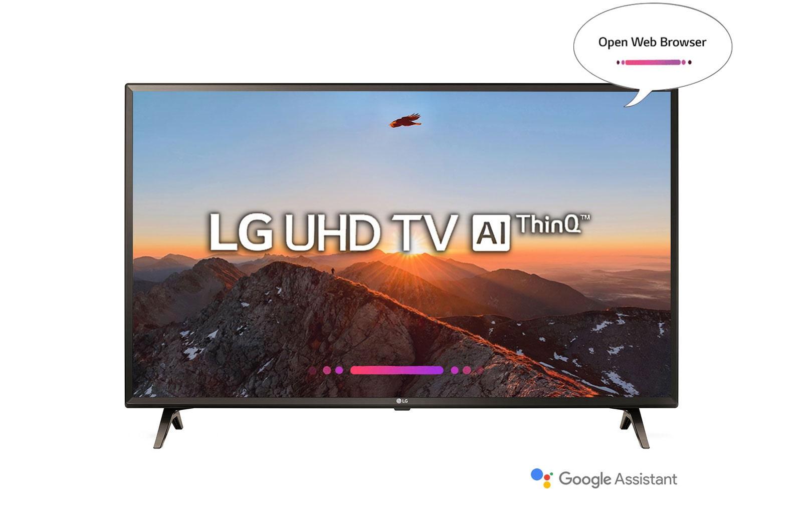 "LG 49/"" 4K Ultra HD HDR Smart TV w// Built-in Google Assistant *49UK6300"