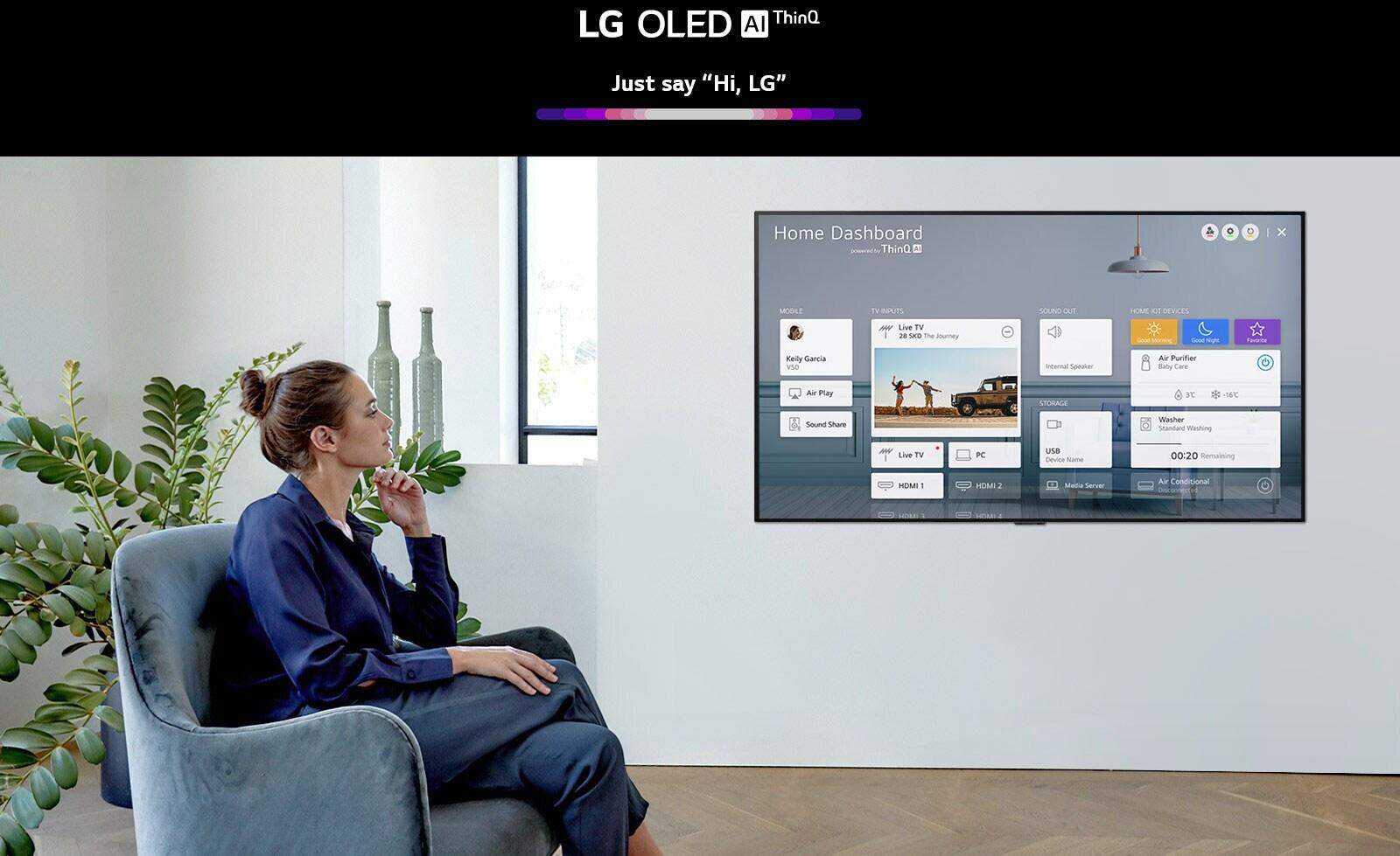 LG OLED77GXPTA AI ThinQ