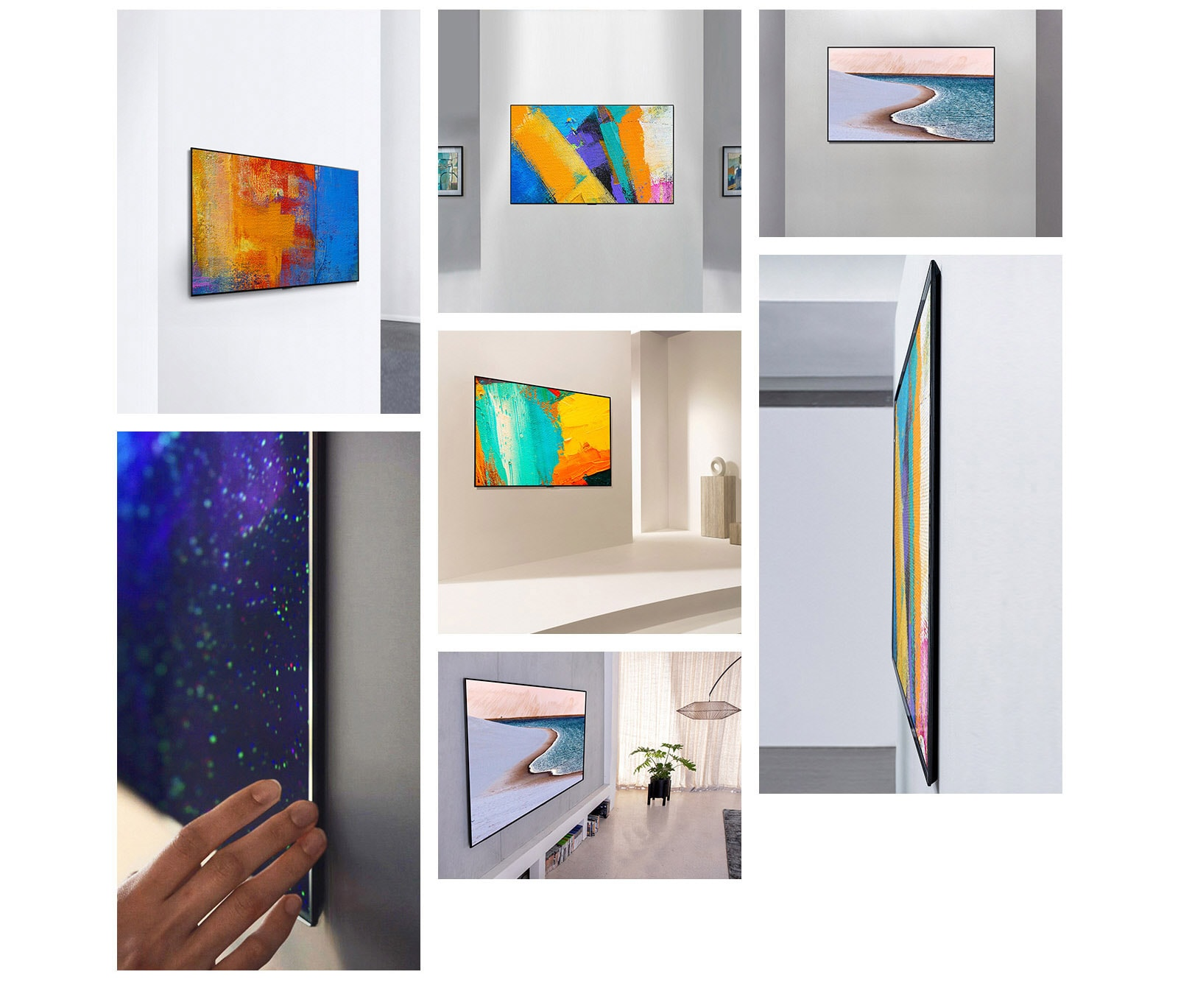 LG OLED77GXPTA Gallery View
