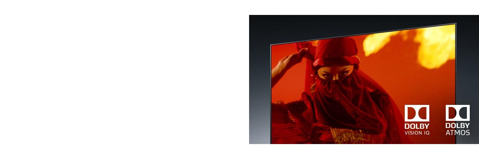 LG 65NANO86TNA Dolby Vision IQ and Atmos