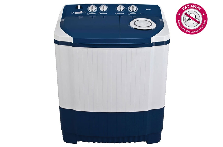 Lg P7556r3fa Semi Automatic Washing Machine