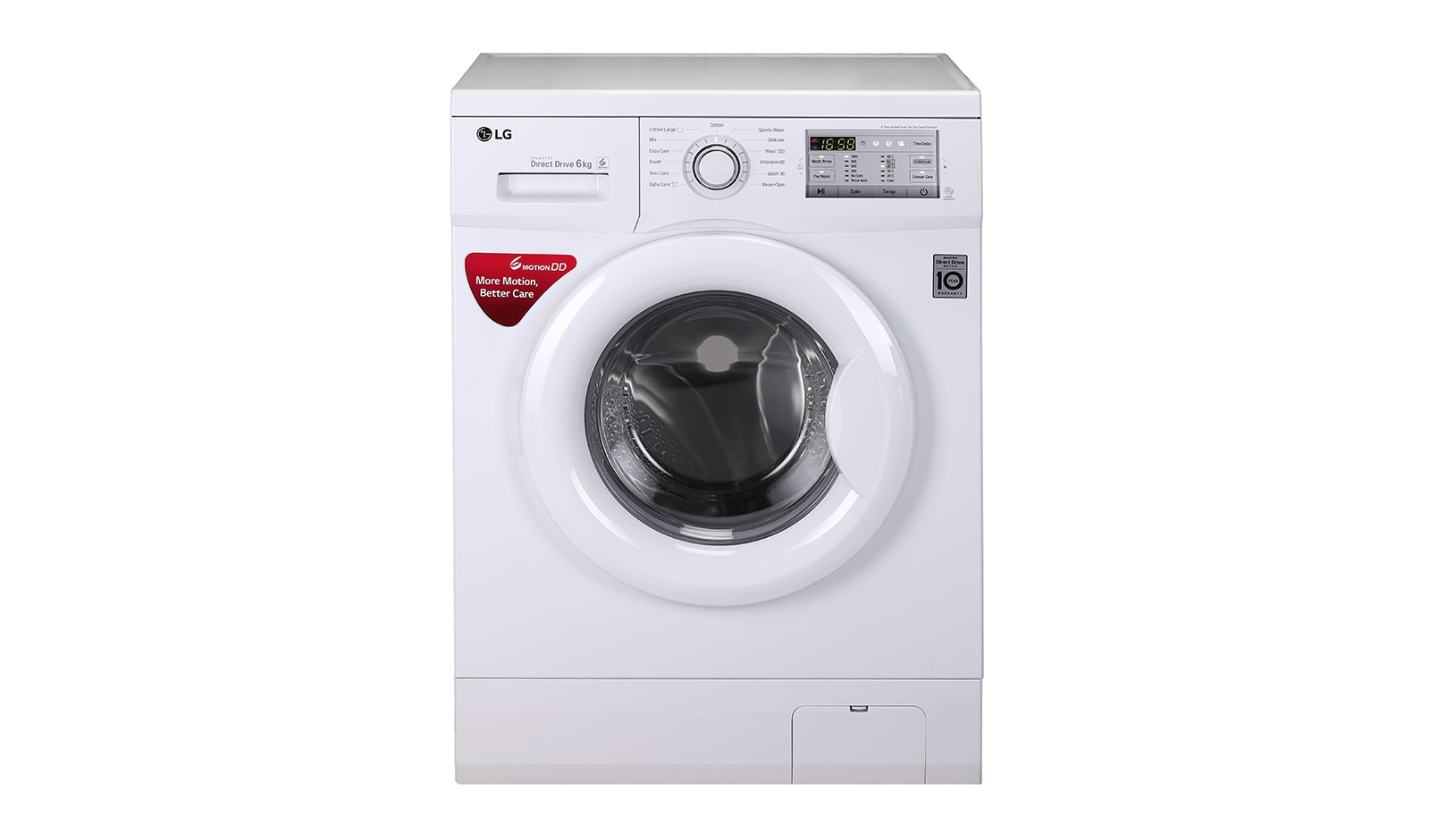 Lg fh0h3ndnl02 60 kg front loading washing machine with 6 motion lg fh0h3ndnl02 60 kg front loading washing machine with 6 motion direct drive lg in biocorpaavc Images