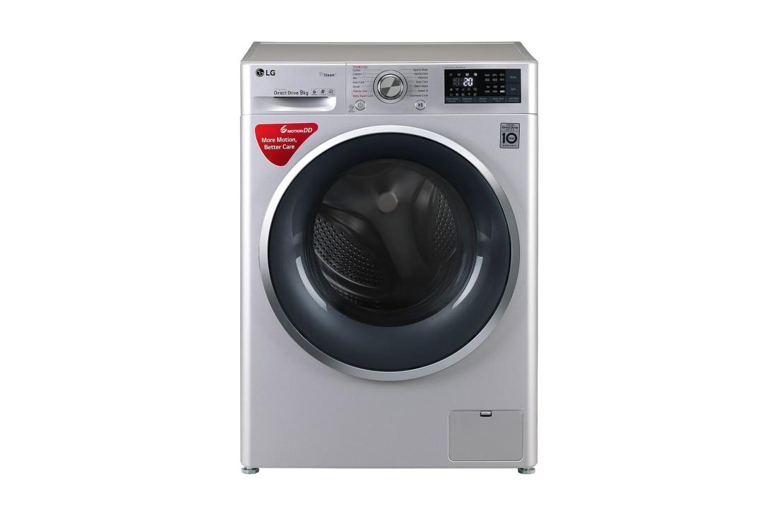 LG FHT1409SWL 9 Kg Front Loading Washing Machine ... on Washing Machine  id=40258