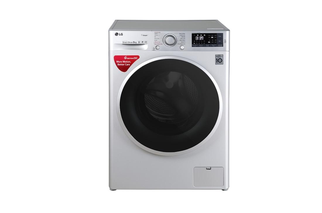 8 0 Kg Washing Machine With Steam Turbowash Technology