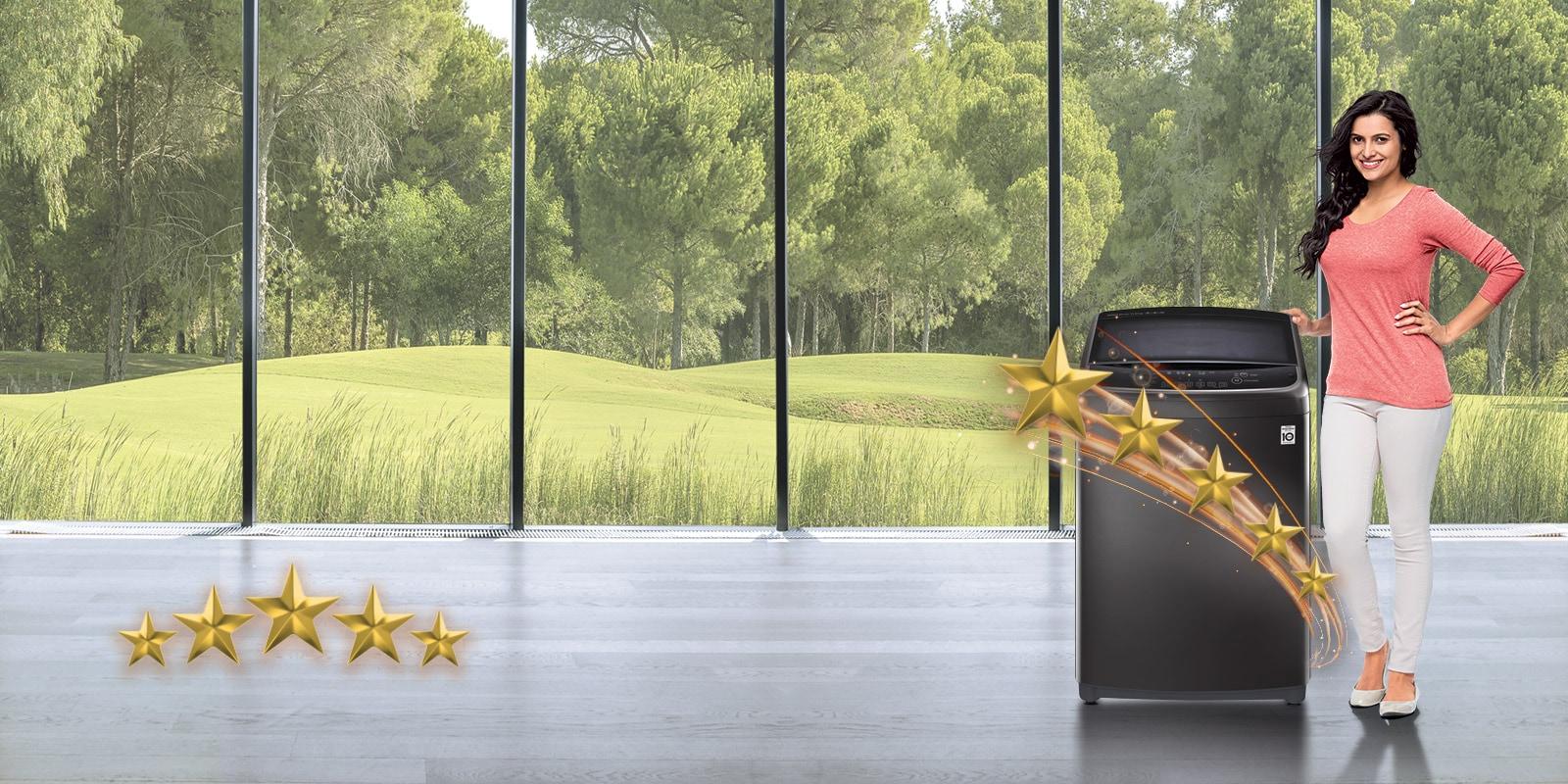 LG T70SJMB1Z 7.0 kg 5 STAR RATING