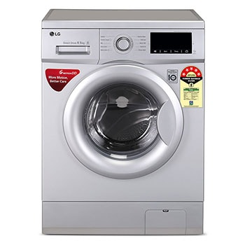 6.5 Kg, 6 Motion Direct Drive, Touch Panel, Fuzzy Logic, Baby Care, Sports wear, Child Lock, Front Load Washing Machine1