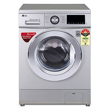 8.0 Kg, 6 Motion Direct Drive, Touch Panel, Fuzzy Logic, Baby Care, Sports wear, Child Lock, Front Load Washing Machine1