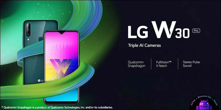 LG Capture Your Winning Momens W-series Smartphone