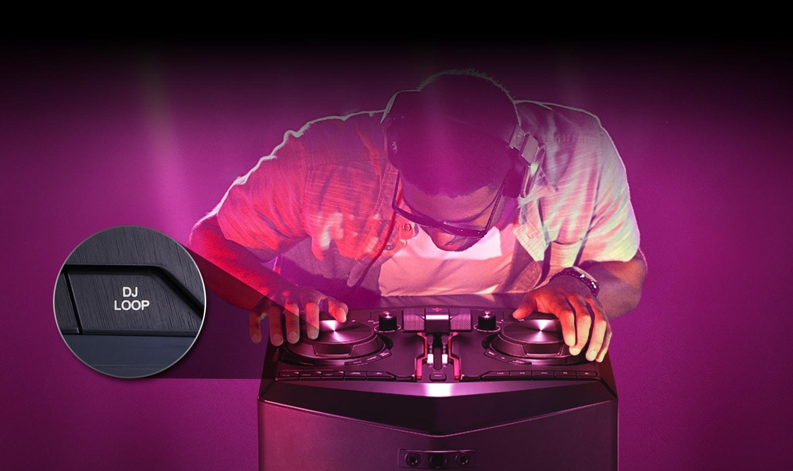 DJ Loop, repeat your beats