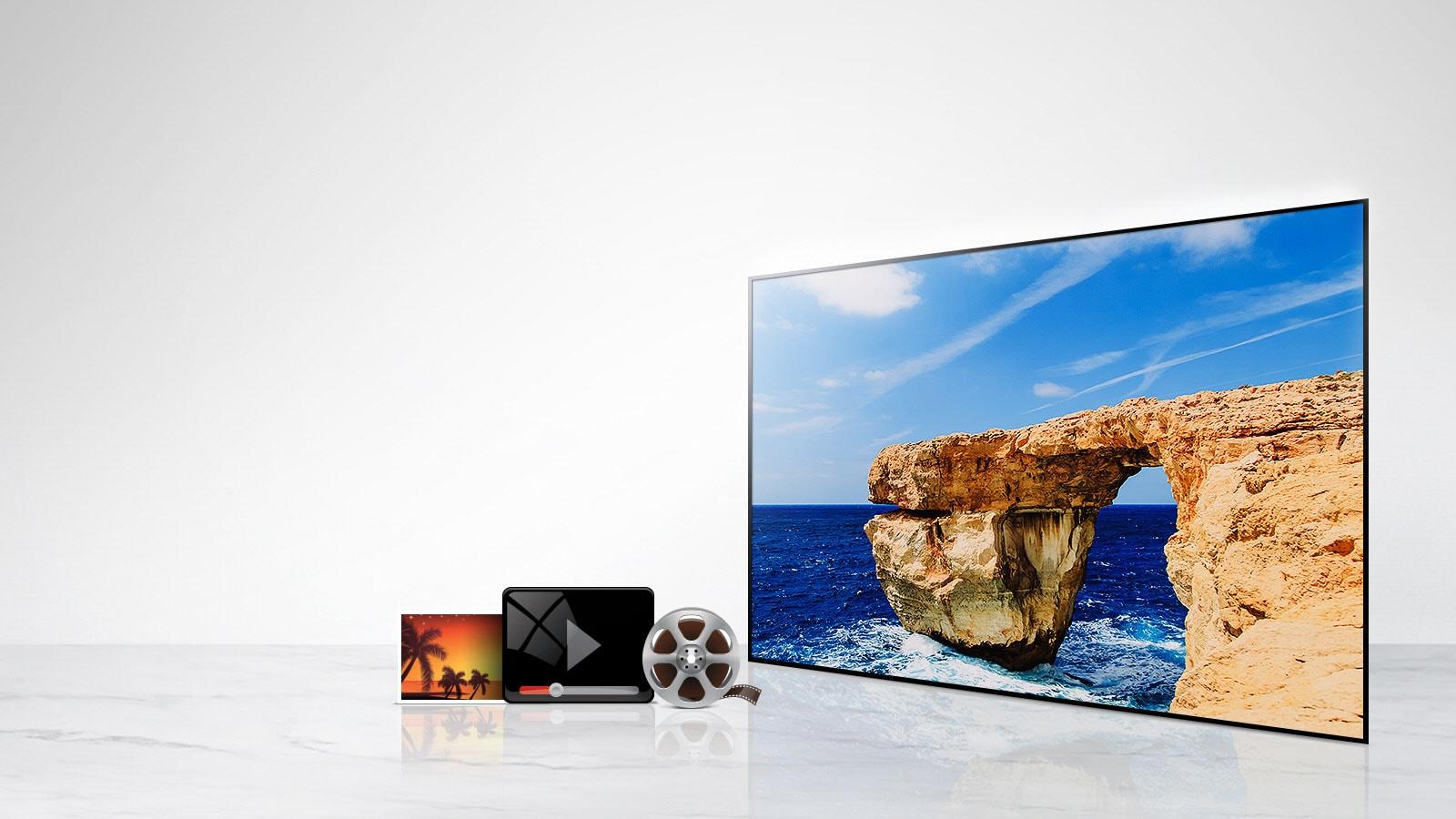 تلویزیون 32 اینچ FULL HD ال جی مدل LJ510V