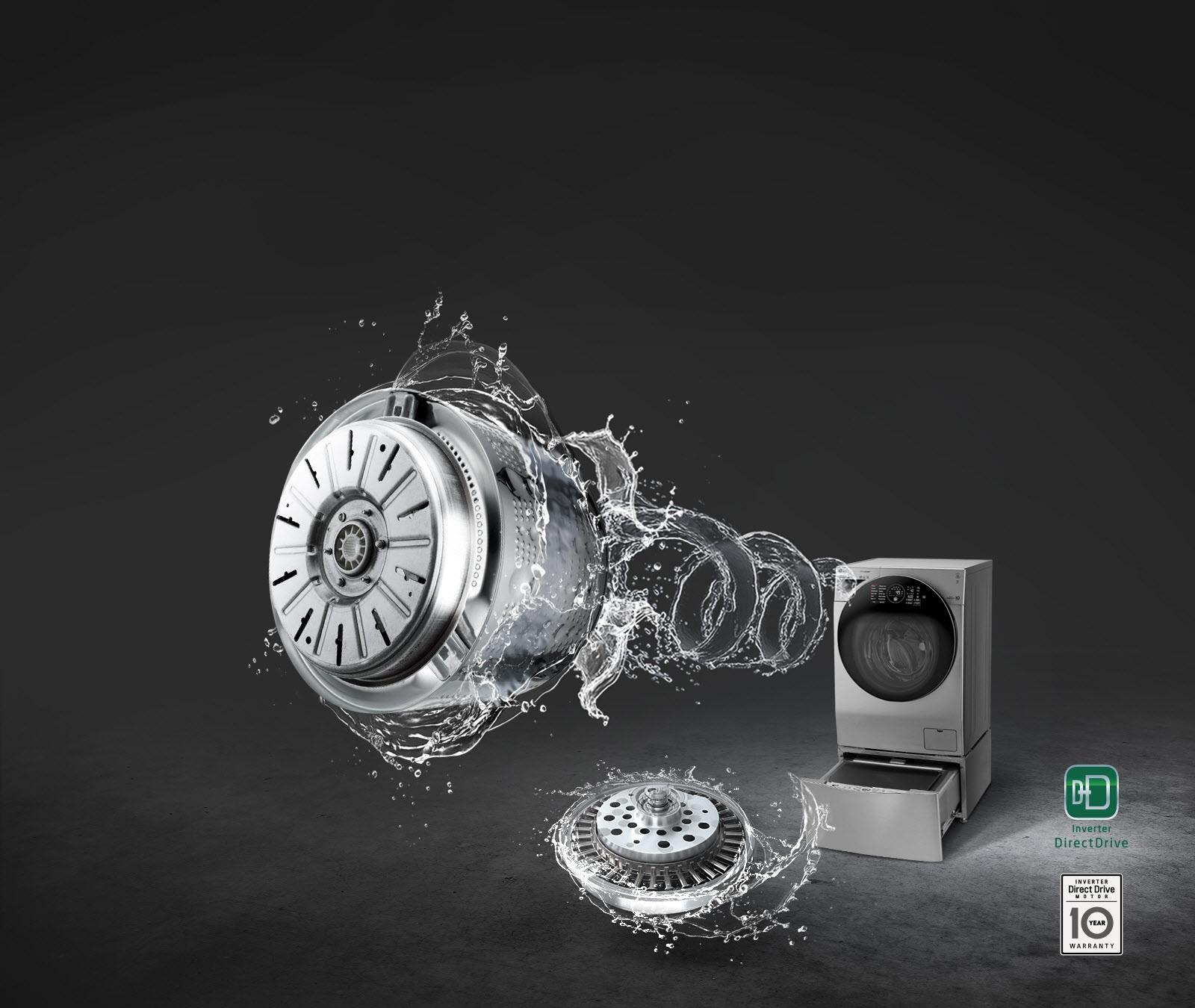 Global_TWINWash24_Gplus_Washer&Dryer_VCM_2018_Feature_09_InverterDirect_D_9