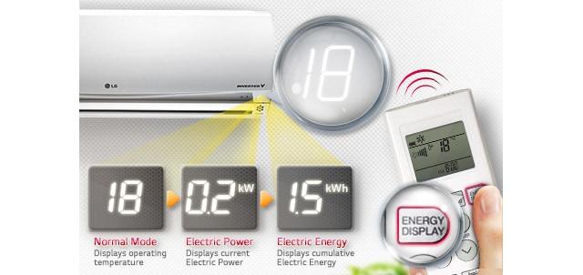 03 Energy Display کولر گازی ال جی 12000 مدل Next Plus II NP127SK1