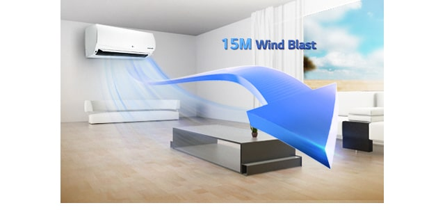 10 15M Windblast کولر گازی ال جی 12000 مدل Next Plus II NP127SK1